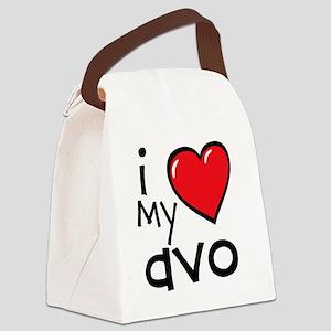 I Love My Avo Canvas Lunch Bag