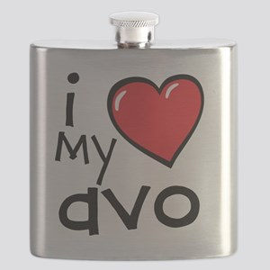 I Love My Avo Flask