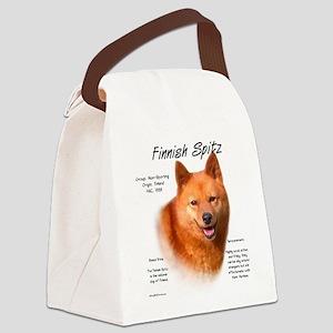 Finnish Spitz Canvas Lunch Bag