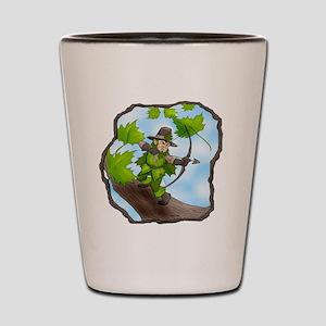 Leaf Gnome of Mythdale Forest Shot Glass