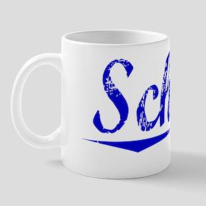Schaff, Blue, Aged Mug