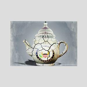 Crack-Pot Congress Rectangle Magnet