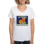 Mazoe colour Women's V-Neck T-Shirt
