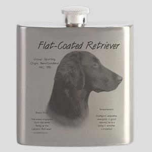 Flat-Coat Retriever Flask
