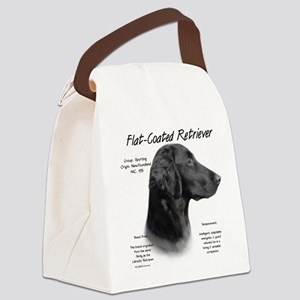 Flat-Coat Retriever Canvas Lunch Bag