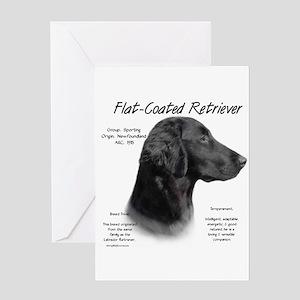 Flat-Coat Retriever Greeting Card