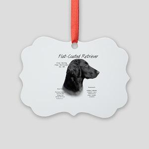 Flat-Coat Retriever Picture Ornament