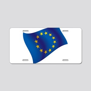 European Union Aluminum License Plate