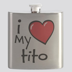 I Love My Tito Flask