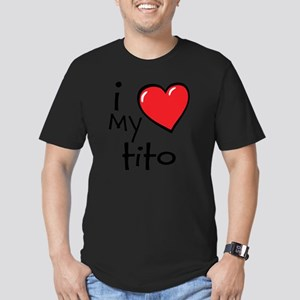 I Love My Tito Men's Fitted T-Shirt (dark)