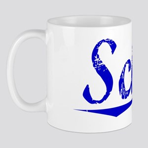 Schuh, Blue, Aged Mug