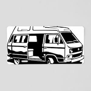 Camper Van 3.1 Aluminum License Plate