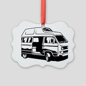 Camper Van 3.1 Picture Ornament