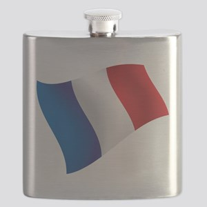 French Flag Flask