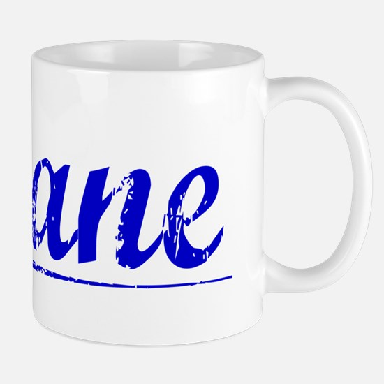 Shane, Blue, Aged Mug