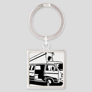 Camper Van 3.2 Square Keychain