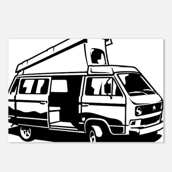 Camper Van 3.2 Postcards (Package of 8)