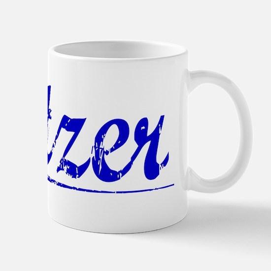 Setzer, Blue, Aged Mug