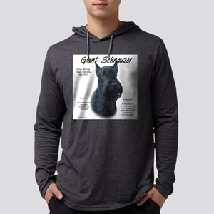 Giant Schnauzer Mens Hooded Shirt