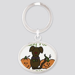 The Great Pumpkin Oval Keychain