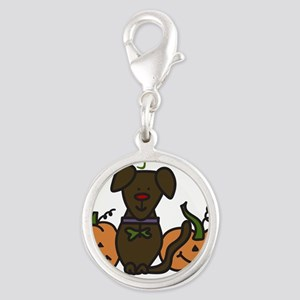 The Great Pumpkin Silver Round Charm