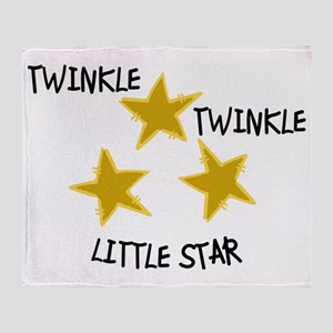 Twinkle, Twinkle Throw Blanket