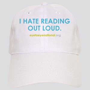 I hate reading out loud Cap
