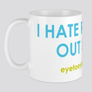 I hate reading out loud Mug