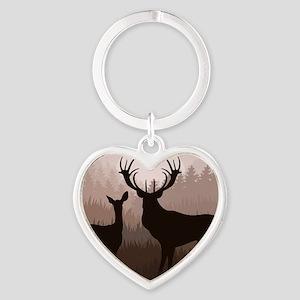 Deer Heart Keychain