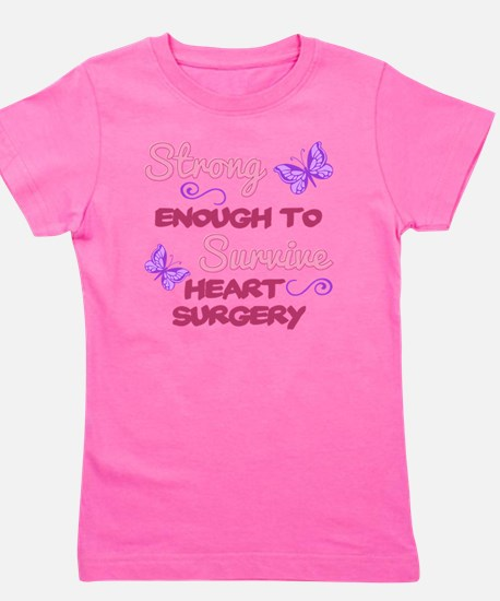 Cute I survived open heart surgery Girl's Tee