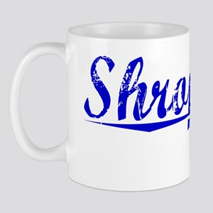 Shropshire, Blue, Aged Mug