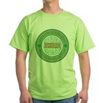 Just here for the beer Green T-Shirt