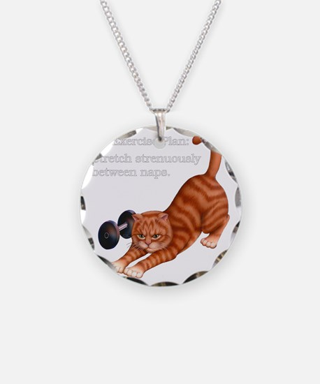 Exercise Plan B Necklace