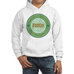Just here for the beer Hooded Sweatshirt