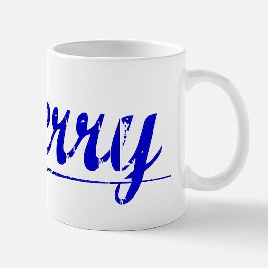 Sherry, Blue, Aged Mug