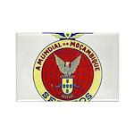 Mozambique Car Club Rectangle Magnet (100 pack)