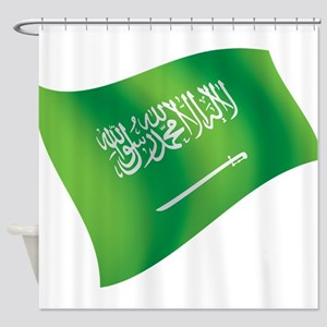 Saudi Arabia Flag Shower Curtain