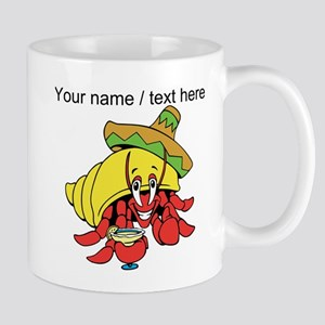 Custom Mexican Hermit Crab Mugs