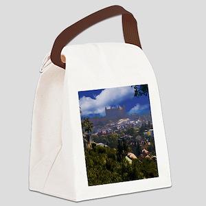 Bratislava Castle Oil Canvas Lunch Bag