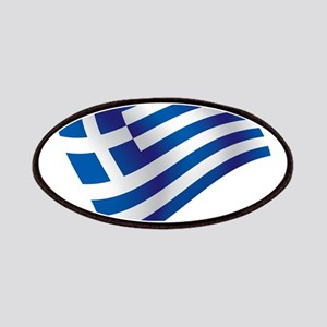 Greek Flag Patches