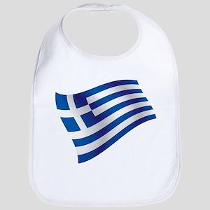 Greek Flag Bib