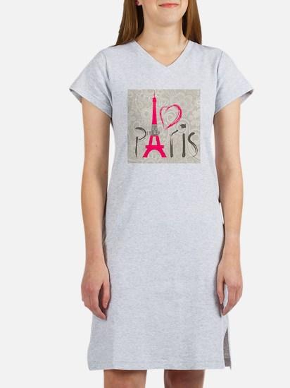 Paris Women's Nightshirt