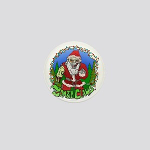 Zombie Claus Mini Button