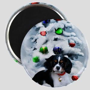 Cavalier King Charles Christmas Magnet