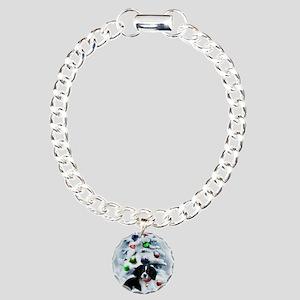 Cavalier King Charles Ch Charm Bracelet, One Charm