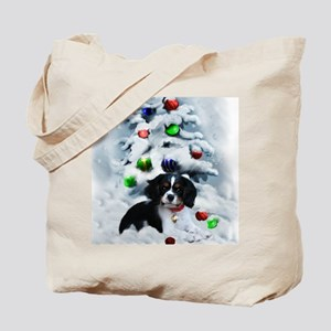 Cavalier King Charles Christmas Tote Bag
