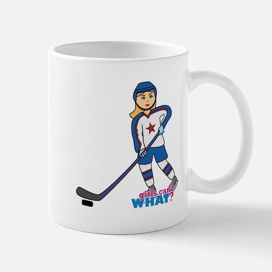 Hockey Player Girl Mug