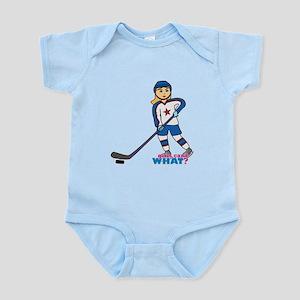 Hockey Player Girl Infant Bodysuit