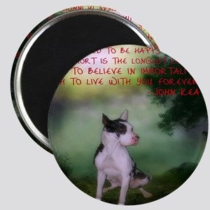 Thru the shadows (w/quote) Magnet