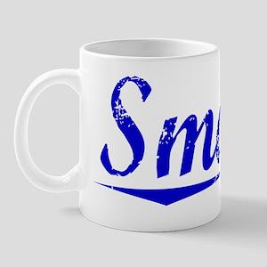 Smalls, Blue, Aged Mug